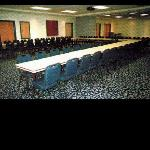Salon A and B for conferences can operate as one large room that can hold up to 200 guests.