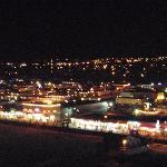 Wildwood at night from ferris wheel.