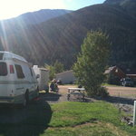 Our spot at A and B RV Park