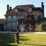 Buscot Manor in Summer