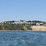 O Hotel visto do lago (passeio de barco)