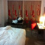 Bedroom - the giant panda is not mine!:)