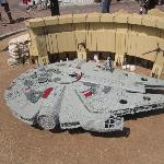 Star Wars - Millenium Falcon at Miniland