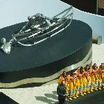 Elevated view of the RNLI Memorial ceremony (Credit RNLI/Nigel Millard)