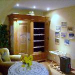 closet, sitting area