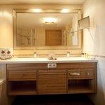 Moderne Badausstattung in unseren Morgenrot Zimmern