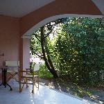 patio per chiaccherare e rilassarsi dopo passeggiata
