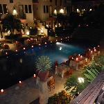 cena in piscina