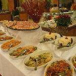 buffet tres variee