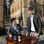 Alessandro and Pietro Griccioli will bring you in our gorgeous Villas and unforgettable wine tas