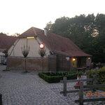 vista edificio ristorante