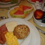 I love my continental breakfast!