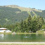 The lake at Les Gets