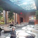 hip, modern lobby