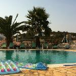 Pool at Dimas Apts