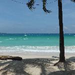 Lovely white beach