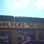 Walter's Buffet - our fave eatery in Chui, Brasil