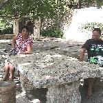 In the garden of Coves de Campanet