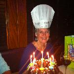 The Birthday Girl at Benedetto's!