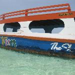 Glass Bottom Boat in the Nylon Pool