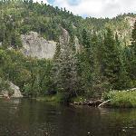 Descente en canot de la rivière du Diable au parc national du Mont-Tremblant