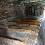 Bettenlager in Flößer Schutzhütte