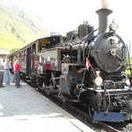 Furka steam train