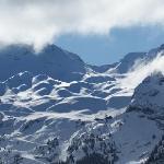 Views of the ski slopes