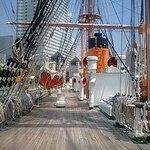 帆船・日本丸のマスト