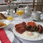 Full English Breakfast at Green Haven