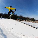 Try out any of our three terrain parks