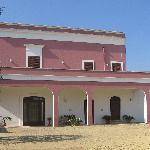 La facciata della Masseria