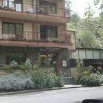 Photo de la façade de l'hôtel