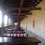 the restaurant 'outside'