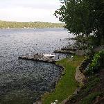 Loking out to Lake Winnipesaukee