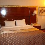 Rm 701, bed and dressing area