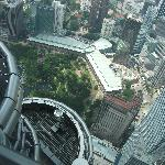 Looking down from 86th floor