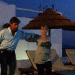 Greek night-Anna and Yanni dancing