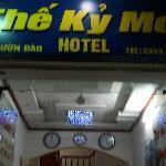 Hotel name in Vietnamese