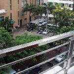 Double-room's balcony