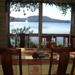 Breakfast overlooking Lake Pleasant
