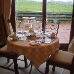 il tavolo per la colazione (che nostalgia!)
