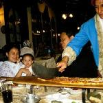 Cut The Bread in Traditional outfit