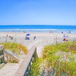 Beach Access from Ocean Village Club
