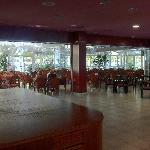 Big conservertorie lounge type area
