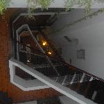 View of the stairway