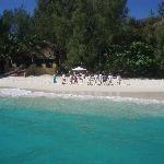 Arrivo sulla Spiaggia del Ristorante - Bar