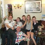 Duncan, Rob, Ash, Emily, Nathan & them 2 guys!