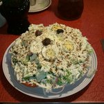 The best greek salad in all of knoxville