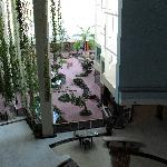 The reception from our floor